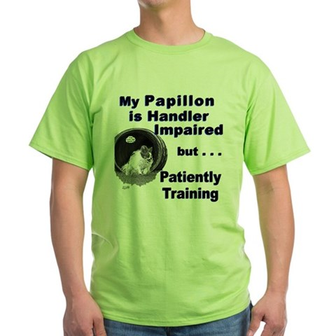 Product Image of Papillon Agility Green T-Shirt