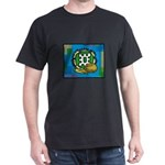 Kwanzaa Blue with corn & coconut.png T-Shirt