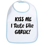 Kiss Me Garlic Bib
