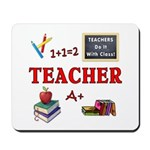 Teachers appreciate mouse pads on the desks at home and in school.  A great gift idea for those who teach and love teaching!  Click to browse and shop our mouse pads...