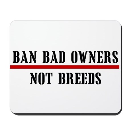 Ban Owners Mousepad