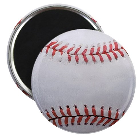 Baseball  Sports 2.25 Magnet 100 pack by CafePress
