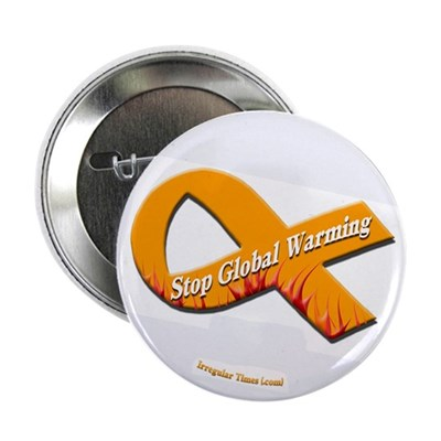 Inflamed Stop Global Warming Button