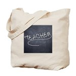 Teachers Blackboard Tote Bag