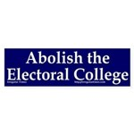 Abolish the Electoral College (sticker)