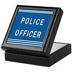 Police Officer Blues Keepsake Box