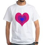Bisexual Hearts Stacking T-Shirt