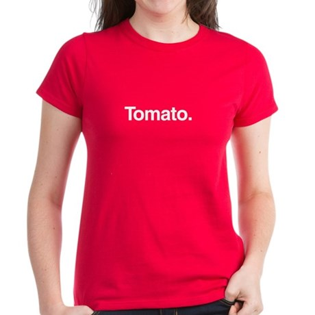 Tomato. Women's Dark T-Shirt