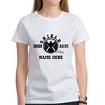 Personalized Junior SHIELD Agent Women's T-Shirt