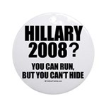 Hillary 2008? You can run but you can't hide