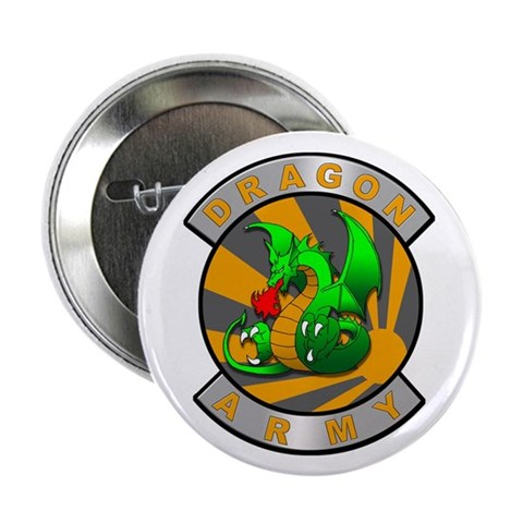 2.25 Dragon Army Button 10 pack Army 2.25 Button 10 pack by CafePress