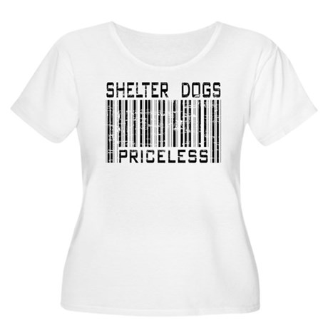 Shelter Dogs Priceless Lover Women's Plus Size Sco