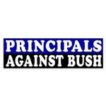 Principals Against Bush (bumper sticker)