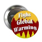 Fight Global Warming Button