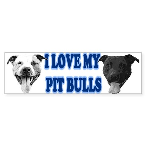 - Blue Pets Bumper Sticker by CafePress
