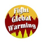 Fight Global Warming (Tree Ornament)