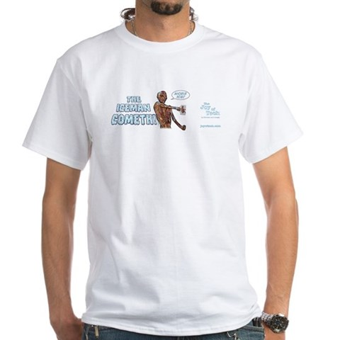 Iceman t-shirt Iceman White T-Shirt by CafePress