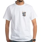 Carter Color White T-Shirt