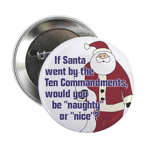 Christmas Button 2.25 Button by CafePress