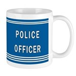 Police Officer Blues Mug