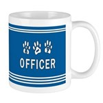 K-9 Police Officer Blues Mug