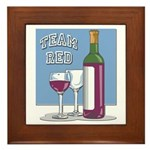 Team Red Wine Plaque