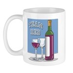 Team Red Wine Mug