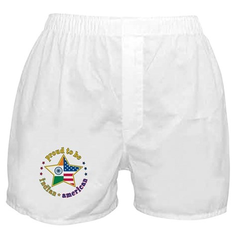 /Proud to Be Indian Family Boxer Shorts by CafePress