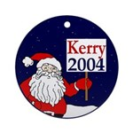 Santa for Kerry 2004 Christmas ornament