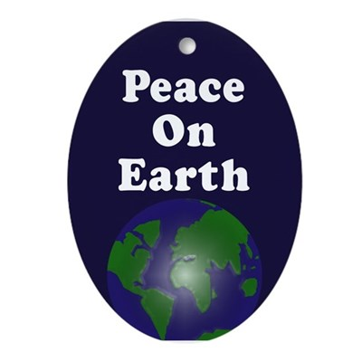 Peace on Earth (Christmas Tree Ornament)