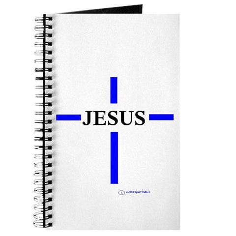 Jesus/Cross/ Religion Journal by CafePress