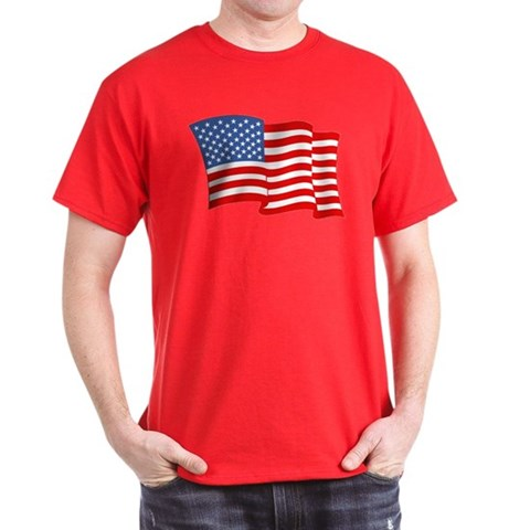 Product Image of American Flag 4th Of July Dark T-Shirt