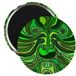 Celtic Green Man Magnet