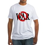 Slash Through War Fitted T-Shirt