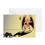 Happy Demon Holiday Cards (Package of 6)