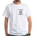 1-115th White T-Shirt