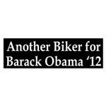 Bikers for Barack Obama Bumper Sticker