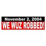 2004: We Wuz Robbed! (bumper sticker)
