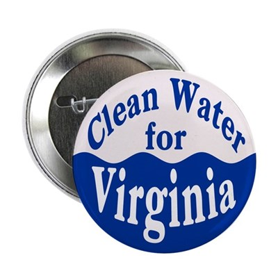 Clean Water for Virginia Button