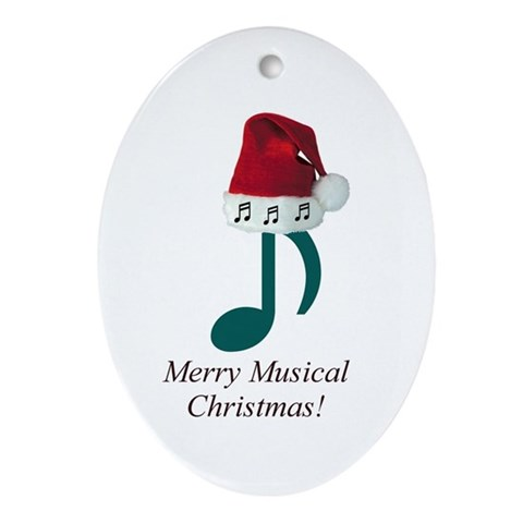 Merry Musical Christmas! Ornament $ 12.50