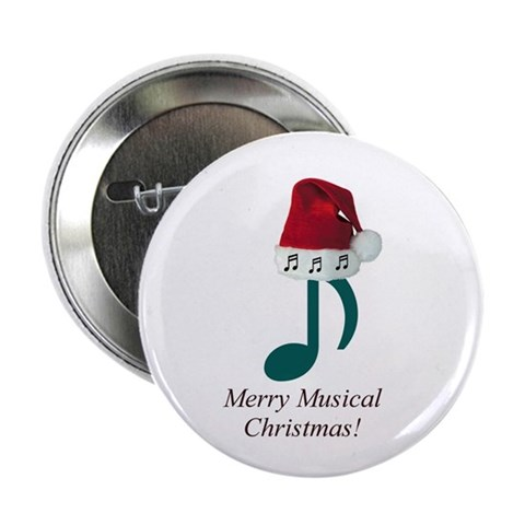 Merry Musical Christmas! Button $ 4.00