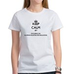 Keep calm by focusing on Alapaha Blue Bloo T-Shirt