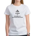 Keep calm by focusing on Australian Bulldo T-Shirt