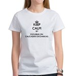 Keep calm by focusing on Caucasian Ovchark T-Shirt