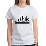 The Evolution of Mom Women's T-Shirt