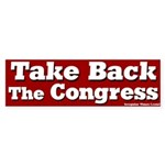 Take Back the Congress Bumper Sticker