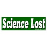 Science Lost Bumper Sticker