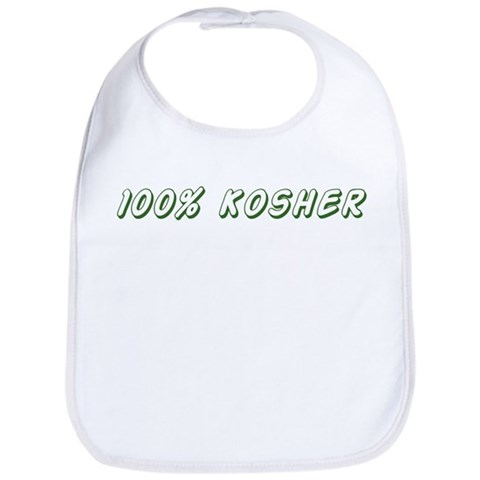100 Kosher  Dog Bib by CafePress