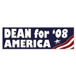 Dean for America '08 (bumper sticker)