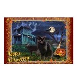 """Postcards (Package of 8) """"Merry Catmas"""""""